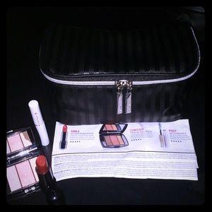 💄Lancome 2019 Bag:Lip:Contour Blush&CILS Booster